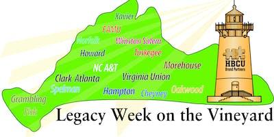 Legacy Week on The Vineyard 2019 List of Events