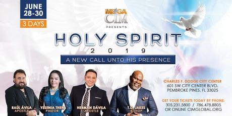 MEGA CIM 2019 HOLY SPIRIT 2019 tickets