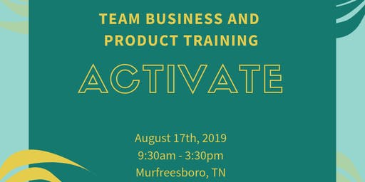 Activate! Product and Business Education