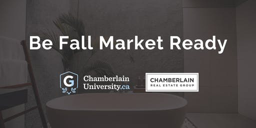 Be Fall Market Ready