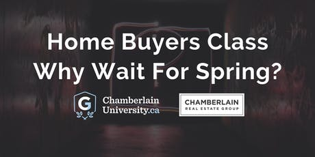 Home Buyers Class | Why Wait For Spring? tickets