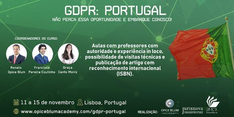 GDPR: PORTUGAL  tickets