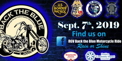 2nd Back the Blue Motorcycle Ride