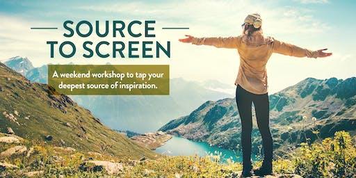 Source to Screen Weekend Retreat in Ojai, CA