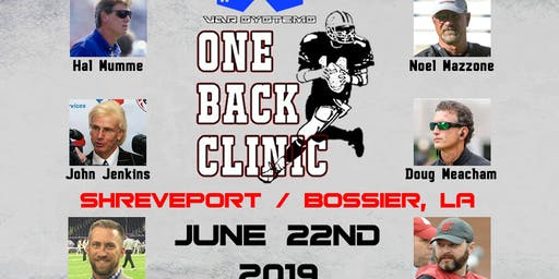 2019 One Back Clinic