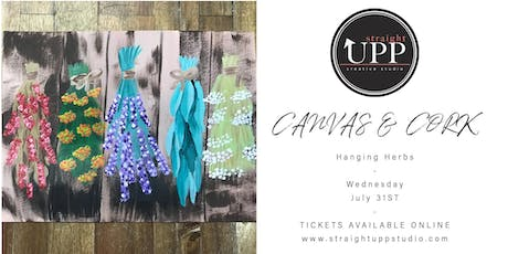 Canvas & Cork | Hanging Herbs tickets