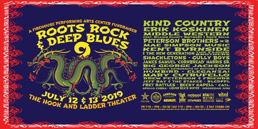Roots, Rock & Deep Blues Weekend (2-Day Passes)