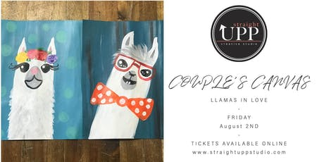 COUPLE'S CANVAS | Llamas In Love tickets