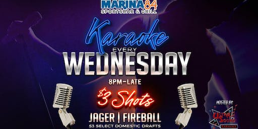 Karaoke Rockstar Wednesdays at Marina84