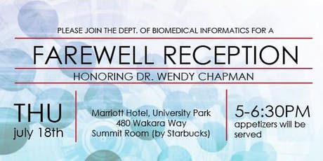 Farewell Reception for Dr Wendy Chapman tickets