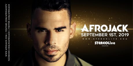 Afrojack - Houston tickets