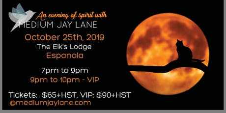 An Evening of Spirit with Medium Jay Lane tickets