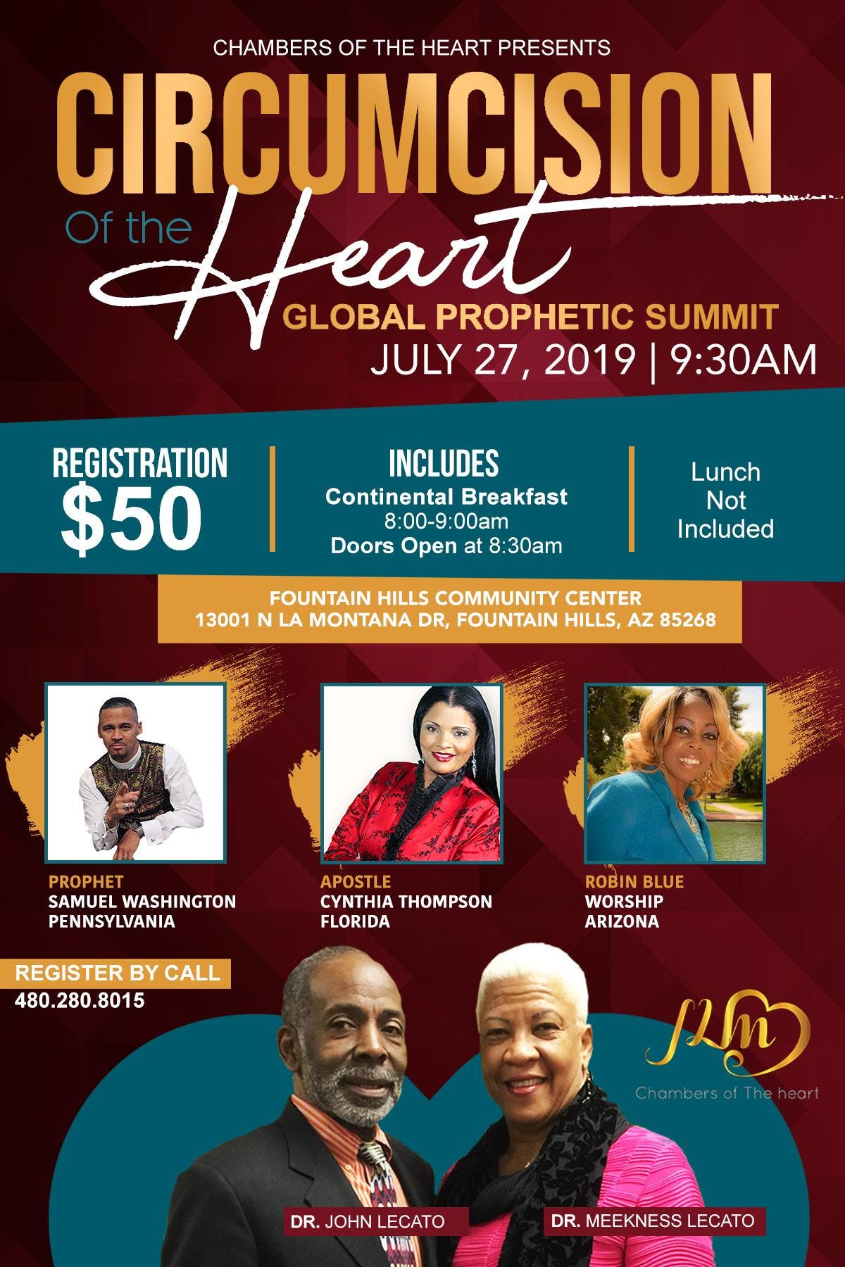 Circumcision of the Heart Global Prophetic Summit
