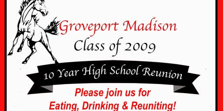 Groveport Madison Class of 09 Reunion tickets