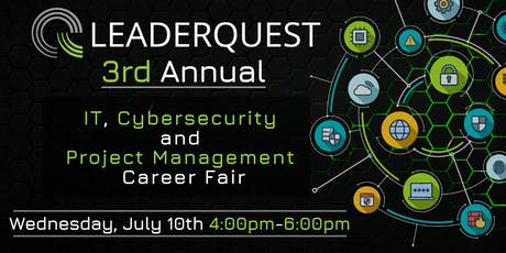 3rd Annual, IT, Cybersecurity, and Project Management Career Fair  tickets