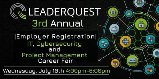 |Employer Registration| 3rd Annual, IT, Cybersecurity, and Project Management Career Fair