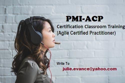 PMI-ACP Classroom Certification Training Course in Arcata, CA