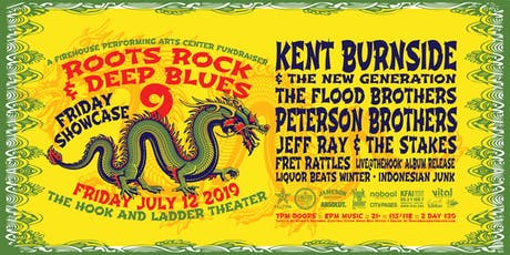 RRDB Showcase with Kent Burnside, The Peterson Brothers & More! tickets
