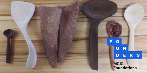 MakeUNSW – Spoon Carving