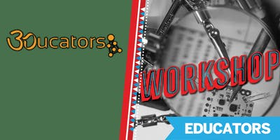 3D Print Anything-Anytime-Anywhere Workshop @ Maker Faire Bay Area 2019