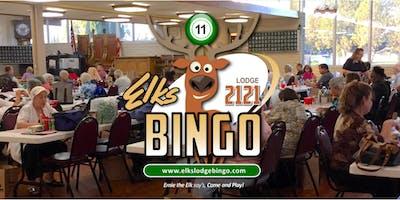 Bingo Night @ the Elks Lodge