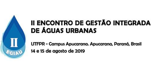II Encontro de Gestão Integrada de Águas Urbanas