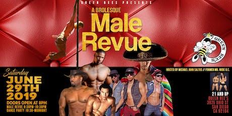 a Brolesque Male Revue tickets
