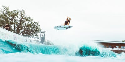Stab High: An Invitational World-Class Surfing Event In Texas