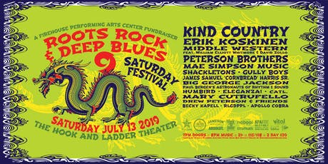Roots, Rock & Deep Blues Festival 9 tickets
