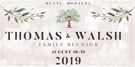 Thomas - Walsh Family Reunion