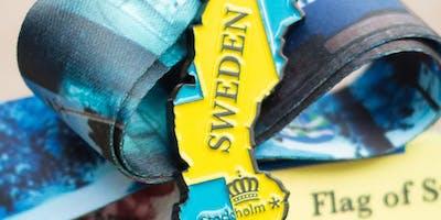 Now Only $14! Race Across Sweden 5K, 10K, 13.1, 26.2 - Evansville