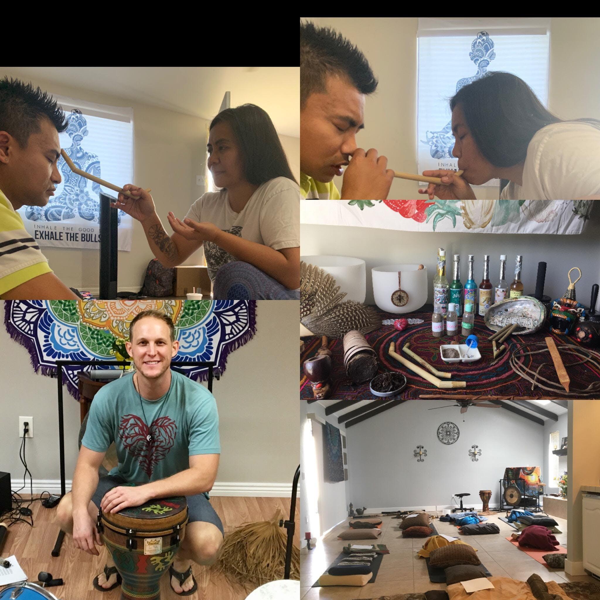 Monday Night Healing Group-Hapè,Breathwork,Tone Meditation,Oils,Friends,Connect!