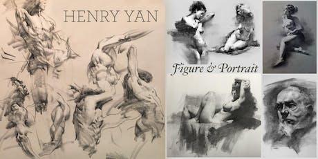 Figure & Portrait Drawing - Henry Yan Workshop + DEMO tickets