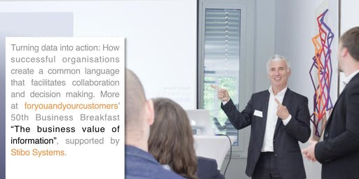"50th Business Breakfast: ""The Business Value of Information"" in Sydney"