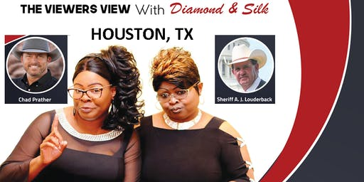 Houston, TX.  Diamond and Silk. The Viewers View Forum.