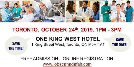 Toronto Healthcare Job Fair - October 24th, 2019 tickets