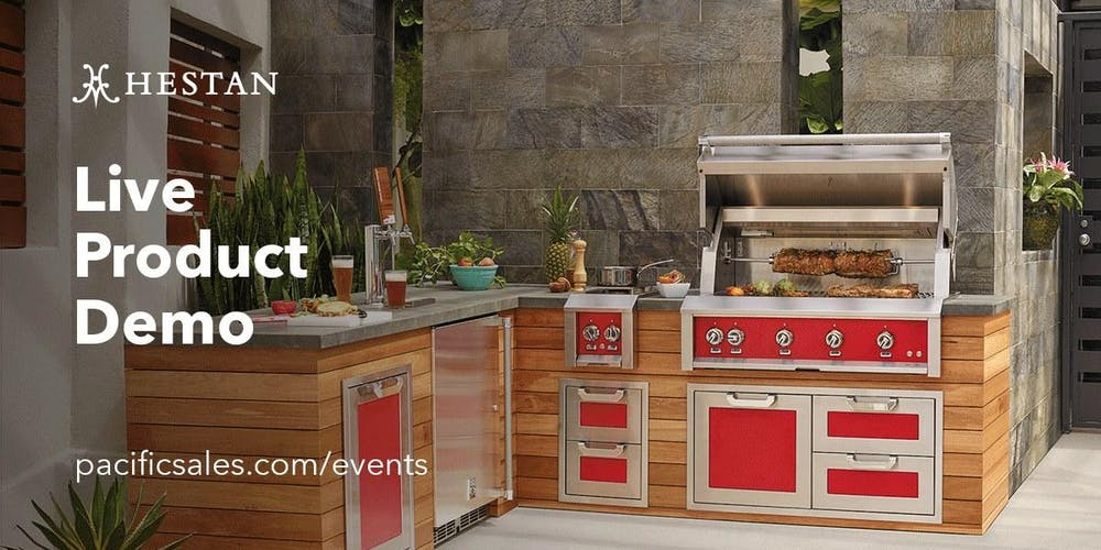 Hestan Outdoor Product Demo At Pacific Sales Tickets Sat May 18