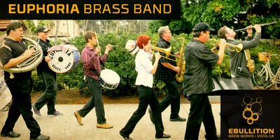 Euphoria Brass Band At Our Fall Mardi Gras Party At Ebullition Brew Works