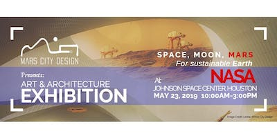 Space, Moon, Mars For Sustainable Earth Exhibition