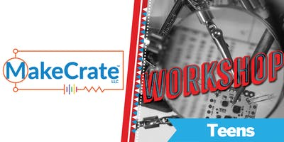 Build an Ultrasonic Alarm Workshop @ Maker Faire Bay Area 2019