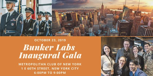 BUNKER LABS INAUGURAL GALA | NEW YORK CITY