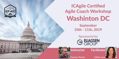 Agile Coach Workshop with ICP-ACC Certification - Washington DC - Sep