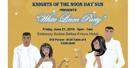 """White Linen Party"" tickets"