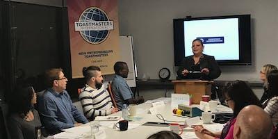Latin Plaza Toastmasters Club Kick Off Meeting!