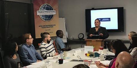 Latin Plaza Toastmasters Club Meeting!  tickets