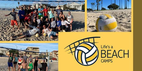 Saturday Beginner Beach Volleyball Clinic by Life's A Beach Camps billets
