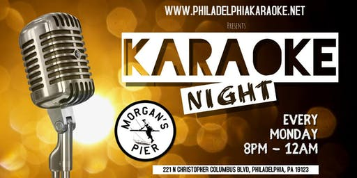 Monday Karaoke at Morgan's Pier