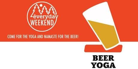 Beer Yoga at Grimross Brewing tickets
