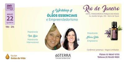 Rio de Janeiro - Barra - WORKSHOP DE ÓLEOS ESSENCIAIS - Flávia Sette, Inês Leão e Tatiana Romagnoli
