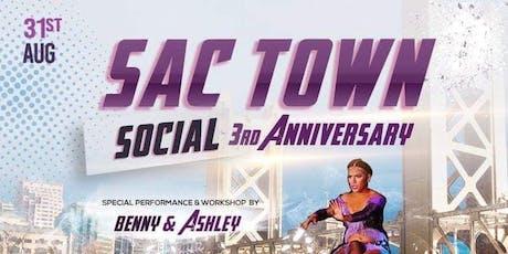 3rd Annual SacTown Social tickets